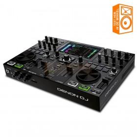 Denon DJ Prime GO - Oplaadbare Slime DJ-console met 2 decks en 7-inch touchscreen