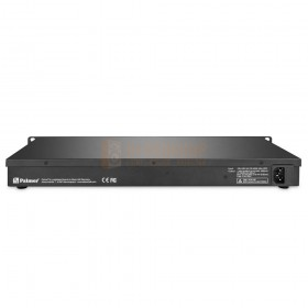 """Palmer BC 400 AA - Professionele 19 """"rackmount acculader achterkant"""