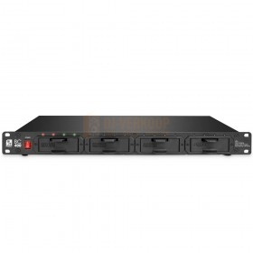 """Palmer BC 400 AA - Professionele 19 """"rackmount acculader voorkant"""