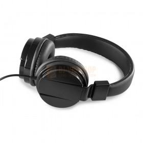Vonyx VH120 Hoofdtelefoon  - Hoogwaardige, robuuste stereo hoofdtelefoon