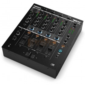 Reloop RMX-44BT - 4 kanaals Bluetooth DJ Club mixer