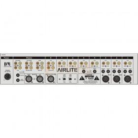 D&R AIRLITE USB-VoIP - ON-AIR Mixer Achterkant aansluitingen