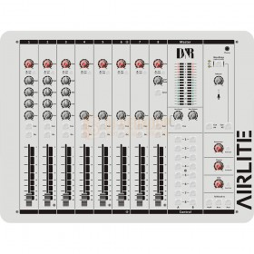 D&R AIRLITE USB-VoIP - ON-AIR Mixer Bovenkant