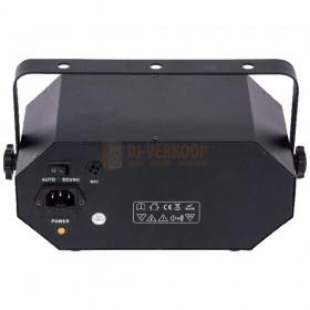 Ibiza Light COMBI-FX2 - 4-IN-1 licht effect met astro, waterwave, uv & strobe achterkant aansluiting