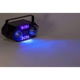 Ibiza Light COMBI-FX2 - 4-IN-1 licht effect met astro, waterwave, uv & strobe wave effect