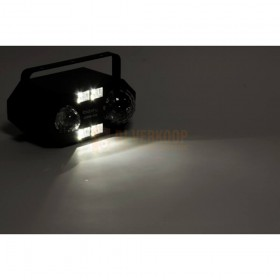 Ibiza Light COMBI-FX2 - 4-IN-1 licht effect met astro, waterwave, uv & strobe effect