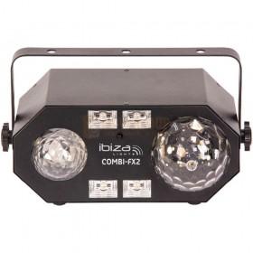Ibiza Light COMBI-FX2 - 4-IN-1 licht effect met astro, waterwave, uv & strobe voorkant
