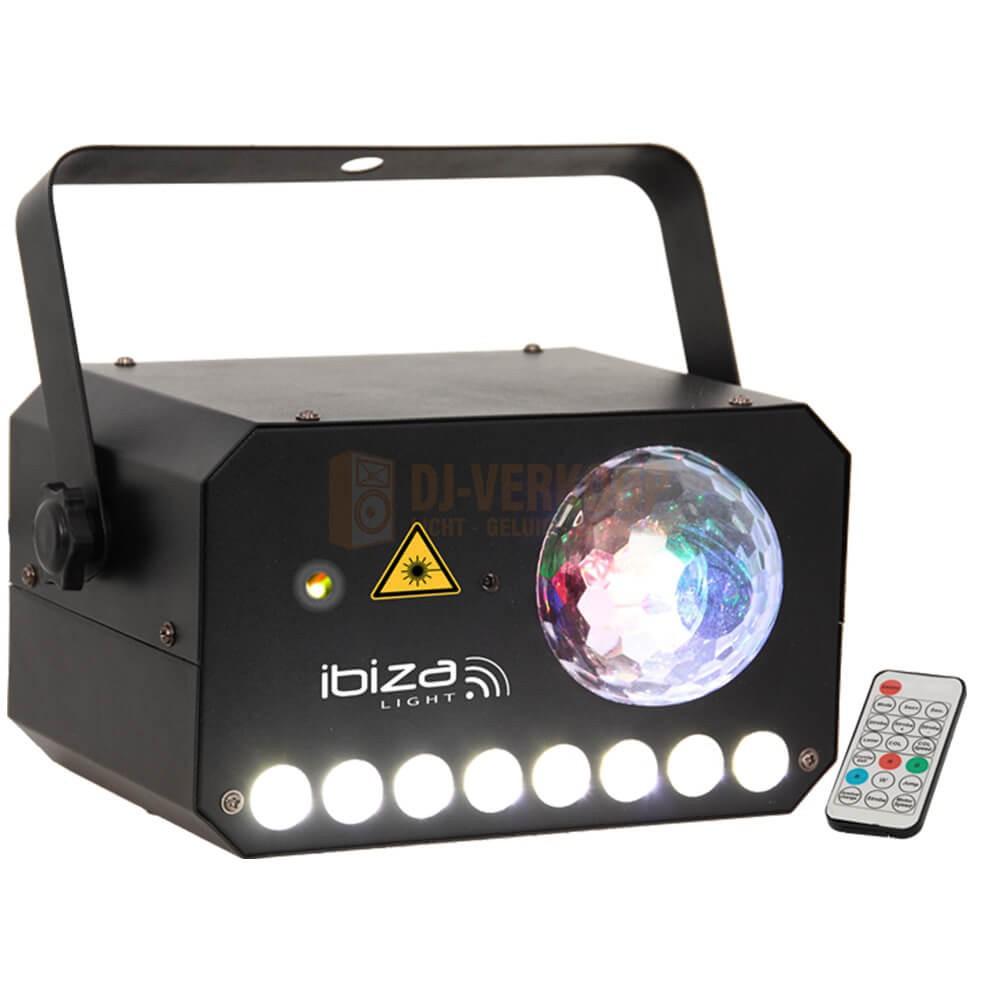 Ibiza Light COMBI-LAS - ASTRO-STROBE-LASER 3-IN-1 KOMBI-LICHTEFFECT