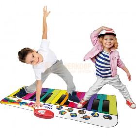 N-Gear Giant Piano Mat - Reuze Piano Dans mat Mini voor de hele familie