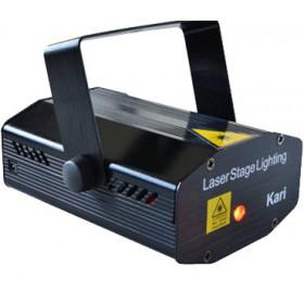 BeamZ Kari Multipoint Laser R/G 150mW
