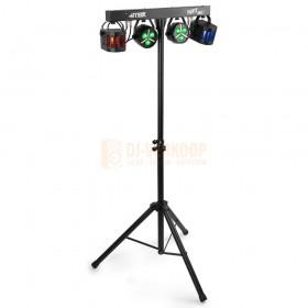 Max AC150 - PartyBar Softcase Set lampen set deze word er niet bijgeleverd