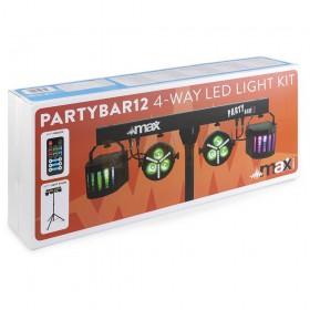 Max Partybar12 - Set 2x PAR en 2 x Derby verpakking