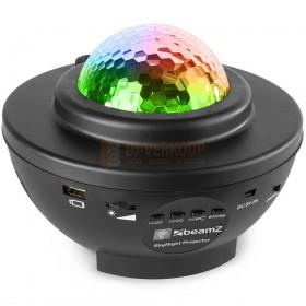 Beamz SkyNight - Projector met rood en groene sterren 153.210