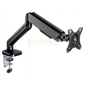Audizio MAD10G - universele gasveer monitor arm voor 17 - 32 inch schermen gebogen arm