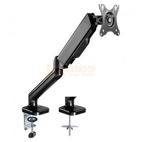 Audizio MAD10G - universele gasveer monitor arm voor 17 - 32 inch schermen met extra grond bevestiging