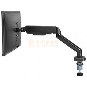 Audizio MAD10G - universele gasveer monitor arm voor 17 - 32 inch schermen zijkant