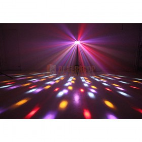 Ibiza Light BUTTERFLY-RC - 6-Kleurige led butterfly effect met afstandbedienign