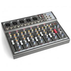 Vonyx VMM-F701 7-kanaal Muziek Mixer met MP3