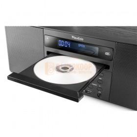 Audizio Prato - All-in-One Muziek systeem CD/DAB+ Zwart CD Ingang