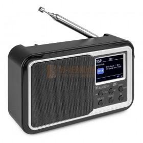 Audizio Parma - Portable DAB+ Radio Black vooraanzicht