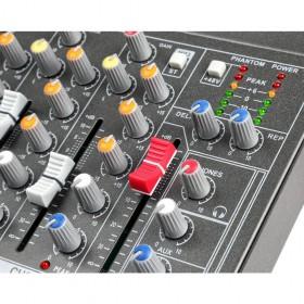 effecten en faders Vonyx VMM-F701 7-kanaal Muziek Mixer met MP3