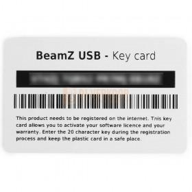software kaart BeamZ USB DMX Interface met Light Rider/ESA2