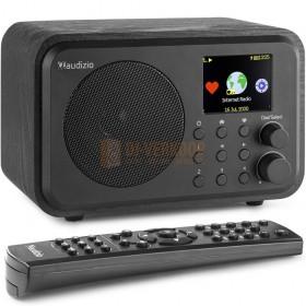 Audizio Venice WIFI internetradio - met batterij zwart