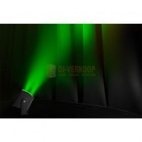 Beamz BBP44 - Mini Battery Uplight IP65 groen lichteffect