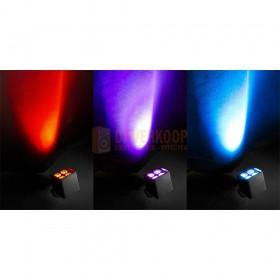 Beamz BBP44 - Mini Battery Uplight IP65 licht effecten