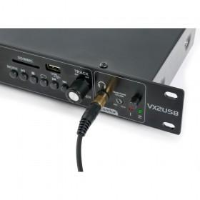 Fenton VX2USB Dubbele USB / SD / BT speler met opnamefunctie - track bediening en hoofdtelefoon aansluiting
