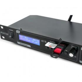 Fenton VX2USB Dubbele USB / SD / BT speler met opnamefunctie - voorkant display en usb en sd