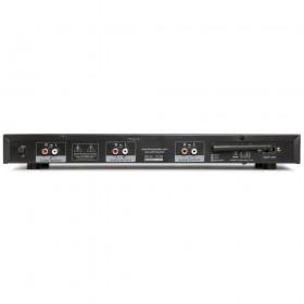 Fenton VX2USB Dubbele USB / SD / BT speler met opnamefunctie - achterkant aansluitingen totaal