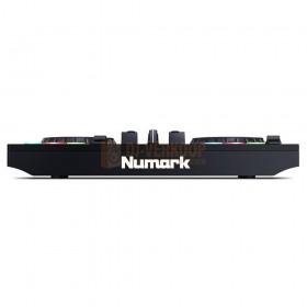 Numark Party Mix Live - DJ-Controller met ingebouwde lichtshow en luidsprekers voorkant