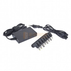 Gembird NPA-AC3 - Universele notebookadapter 40W de losse adapter met losse onderzet stukjes