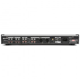 Power Dynamics PDC75 Mediaspeler met opnamefunctie achterkant, aansluitingen