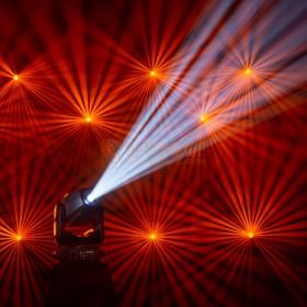 Cameo AURO® SPOT Z300 - LED Spot Moving Head  show 2