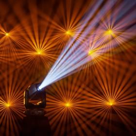 Cameo AURO® SPOT Z300 - LED Spot Moving Head  show 1