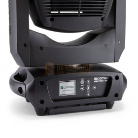 Cameo AURO® SPOT Z300 - LED Spot Moving Head voorkant lcd scherm