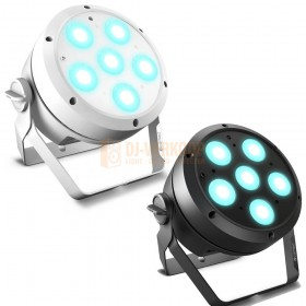 Cameo ROOT® PAR 6 - 6 x 12 W RGBAW + UV PAR Spotlight zwart/wit
