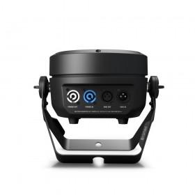 Cameo ROOT® PAR 6 - 6 x 12 W RGBAW + UV PAR Spotlight zwart/wit aansluitingen zwart