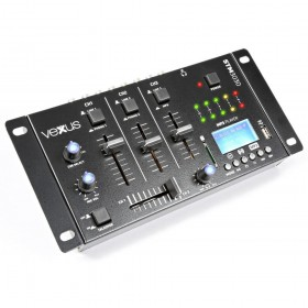 VONYX STM3030 4-Kanaals Mixer USB/MP3/BT/REC - overzicht