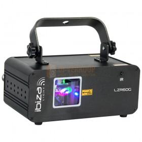 Ibiza Light LZR60G - Groene DMX laser 60MW
