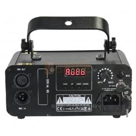 Ibiza Light LZR60G - Groene DMX laser 60MW achterkant aansluiting