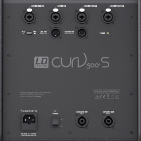LD Systems CURV 500 ES - Portable Entertainer Array Systeem