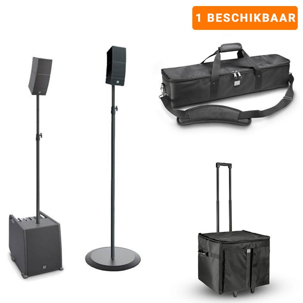 Verhuur - LD Systems CURV 500 mono/stereo set - Portable Entertainer Array Systeem