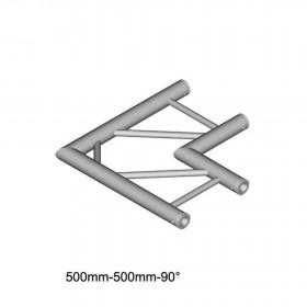Duratruss DT 32/2-C21H-L90 - Haakse duo truss 0.5m