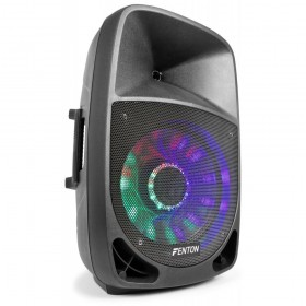 Fenton FT1500A Actieve speaker 15'' MP3/BT/LED