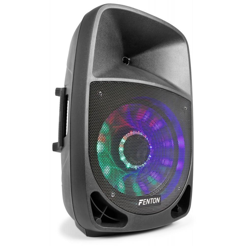 Fenton FT1500A Actieve speaker 15'' MP3/BT/LED