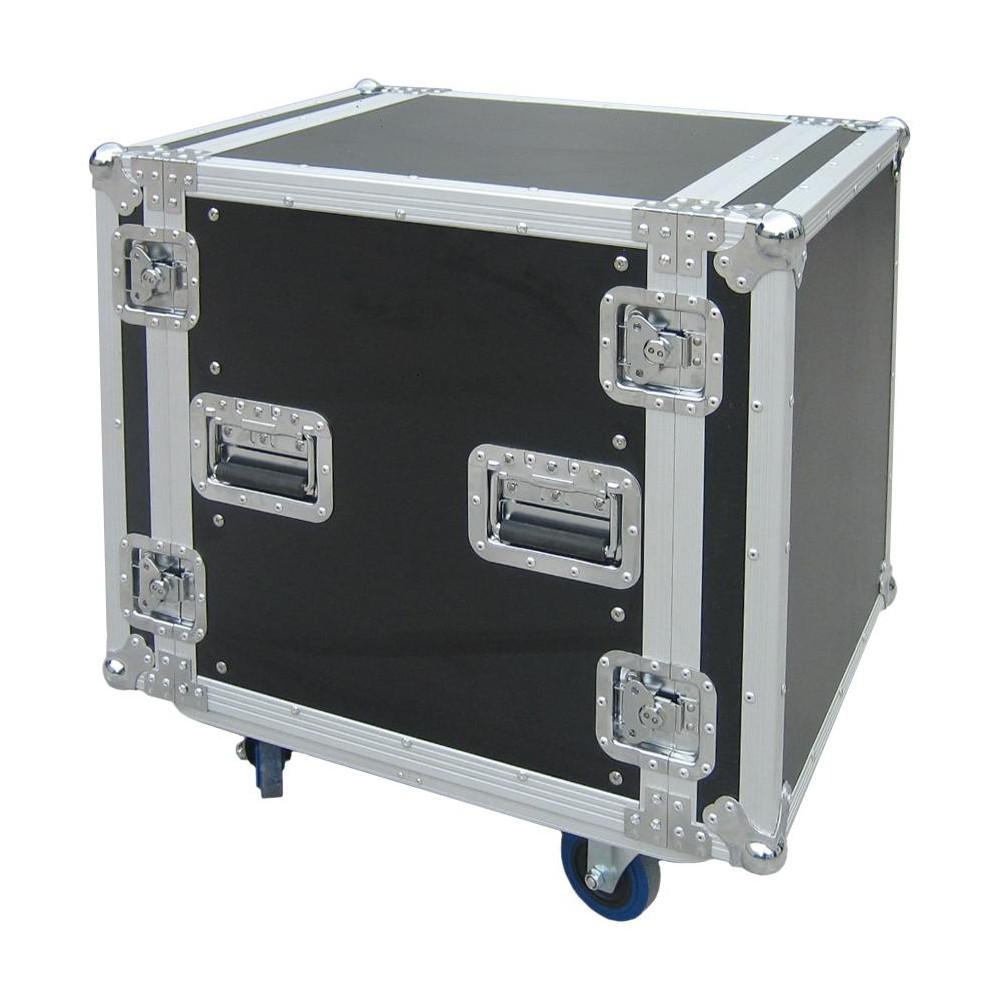 JV Case Rack Case 12U - 12he Flightcase met wielen