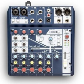 Soundcraft Notepad-8FX - 8 kanaalse compacte mixer met PC USB